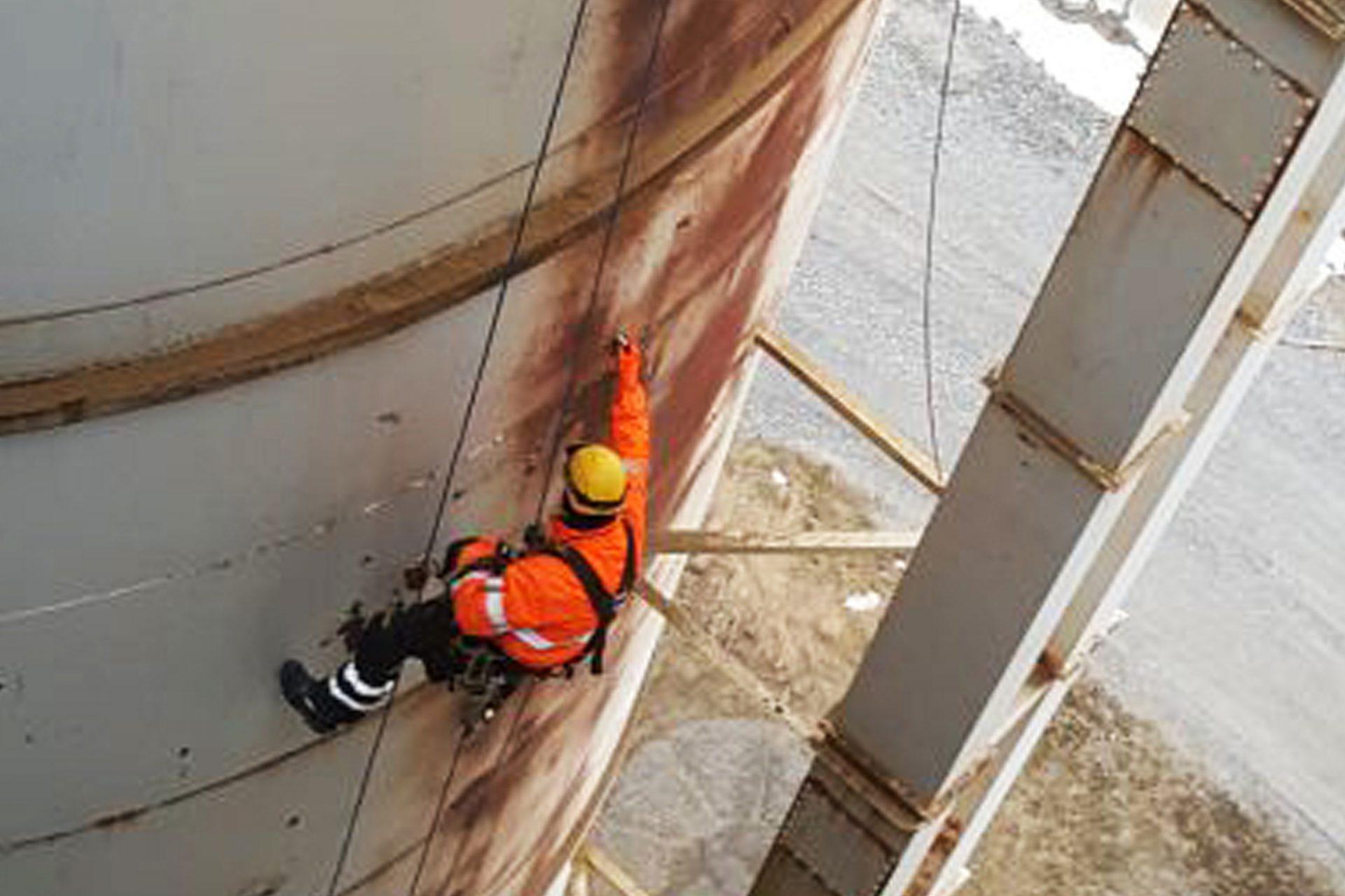 Non-destructive inspection