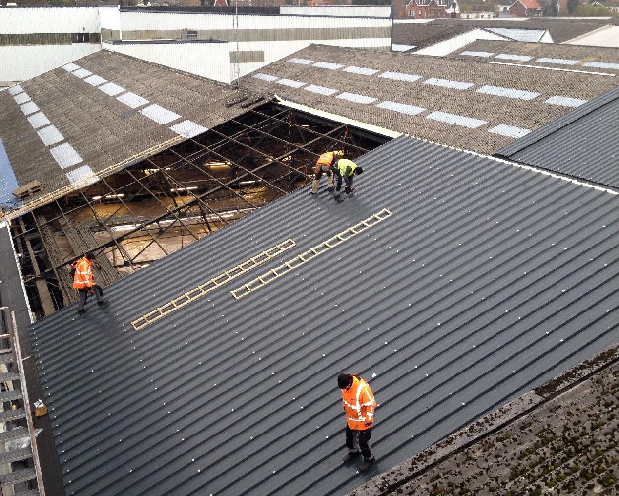 Asbestos Roofs Gridinta